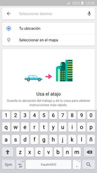 Uso de la navegación GPS - Samsung Galaxy Note 5 - N920 - Passo 13