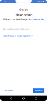Crea una cuenta - LG G7 ThinQ - Passo 2