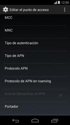 Configura el Internet - Motorola Moto G - Passo 14