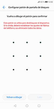 Desbloqueo del equipo por medio del patrón - Huawei P Smart - Passo 9