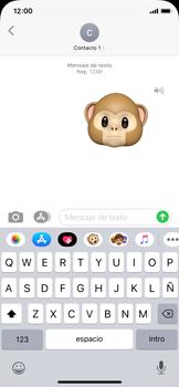 Enviar Animoji - Apple iPhone XS - Passo 16
