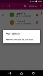 ¿Tu equipo puede copiar contactos a la SIM card? - Sony Xperia XZ Premium - Passo 11