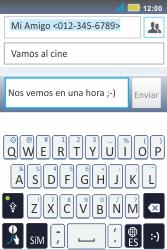 Envía fotos, videos y audio por mensaje de texto - Motorola MotoSmart Me  XT303 - Passo 11