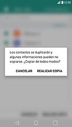 ¿Tu equipo puede copiar contactos a la SIM card? - LG G5 SE - Passo 11