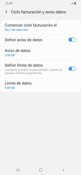 Desactivación límite de datos móviles - Samsung Galaxy A50 - Passo 7