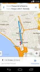 Uso de la navegación GPS - Motorola Moto X (2a Gen) - Passo 21