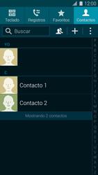 ¿Tu equipo puede copiar contactos a la SIM card? - Samsung Galaxy S5 - G900F - Passo 4