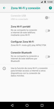 Configura el hotspot móvil - Motorola Moto G6 Play - Passo 6