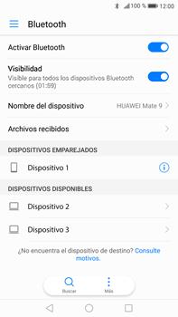 Conecta con otro dispositivo Bluetooth - Huawei Mate 9 - Passo 7