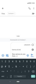 Envía fotos, videos y audio por mensaje de texto - Motorola One Vision (Single SIM) - Passo 10