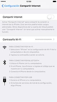 Configura el hotspot móvil - Apple iPhone 7 Plus - Passo 6