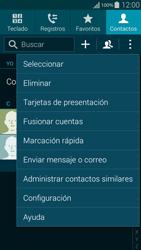 ¿Tu equipo puede copiar contactos a la SIM card? - Samsung Galaxy Alpha - G850 - Passo 5