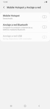 Configura el hotspot móvil - Samsung Galaxy A30 - Passo 6