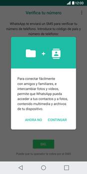 Configuración de Whatsapp - LG G6 - Passo 5