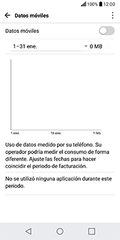 Desactiva tu conexión de datos - LG Q6 - Passo 5