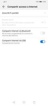 Comparte la conexión de datos con una PC - Huawei Mate 20 Pro - Passo 8