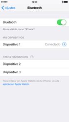 Conecta con otro dispositivo Bluetooth - Apple iPhone 6 - Passo 6