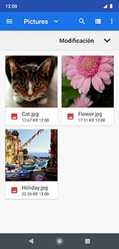 Envía fotos, videos y audio por mensaje de texto - Motorola Moto G7 Plus - Passo 16
