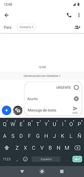 Envía fotos, videos y audio por mensaje de texto - Motorola Moto G7 Plus - Passo 7