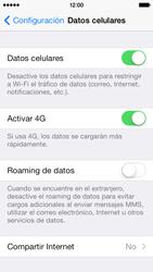 Comparte la conexión de datos con una PC - Apple iPhone 5c - Passo 4