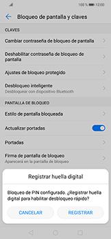Activa o desactiva el uso del código de seguridad - Huawei Mate 20 Lite - Passo 7