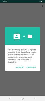 Configuración de Whatsapp - Samsung Galaxy A80 - Passo 7