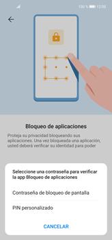 Cómo habilitar la función Bloqueo de aplicaciones - Huawei P40 Lite - Passo 6
