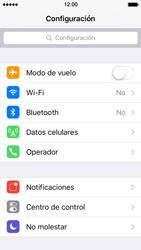 Desactiva tu conexión de datos - Apple iPhone 5 - Passo 2