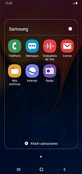 Envía fotos, videos y audio por mensaje de texto - Samsung Galaxy A10 - Passo 3