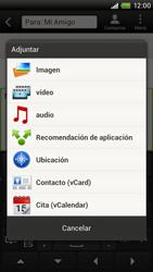 Envía fotos, videos y audio por mensaje de texto - HTC ONE X  Endeavor - Passo 12