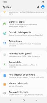Desinstalar aplicaciones - Samsung Galaxy A30 - Passo 3