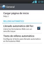 Configura el Internet - LG Optimus L7 - Passo 27