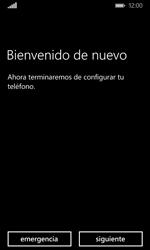 Activa el equipo - Microsoft Lumia 532 - Passo 7