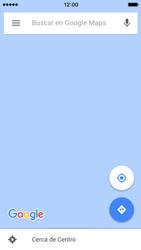 Uso de la navegación GPS - Apple iPhone 5c - Passo 7