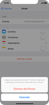 Desactivar la sincronización automática - Apple iPhone XS - Passo 8