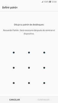 Desbloqueo del equipo por medio del patrón - Samsung Galaxy A7 2017 - A720 - Passo 7