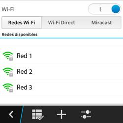 Configura el WiFi - BlackBerry Q5 - Passo 7