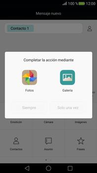 Envía fotos, videos y audio por mensaje de texto - Huawei Mate S - Passo 12