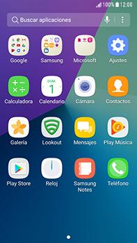 Transferir fotos vía Bluetooth - Samsung Galaxy J7 Prime - Passo 3