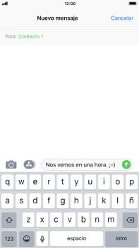 Envía fotos, videos y audio por mensaje de texto - Apple iPhone 8 Plus - Passo 8