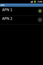 Configura el Internet - Samsung Galaxy Ace  GT - S5830 - Passo 17