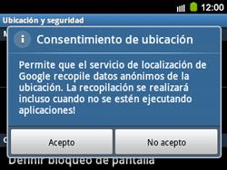 Uso de la navegación GPS - Samsung Galaxy Y Pro GT - B5510 - Passo 6