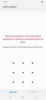 Desbloqueo del equipo por medio del patrón - Samsung Galaxy A50 - Passo 9