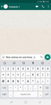 Usar WhatsApp - Samsung A7 2018 - Passo 6