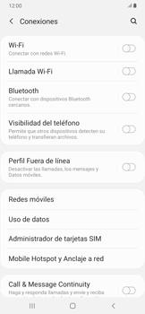 Activa o desactiva el roaming de datos - Samsung Galaxy A30 - Passo 5