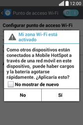 Configura el hotspot móvil - LG L40 - Passo 10