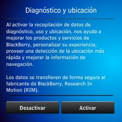 Activa el equipo - BlackBerry Q5 - Passo 6