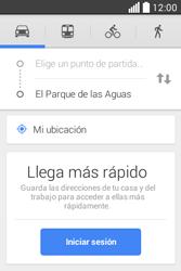 Uso de la navegación GPS - LG L40 - Passo 11