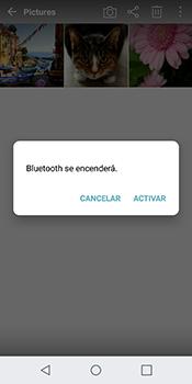 Transferir fotos vía Bluetooth - LG Q6 - Passo 10