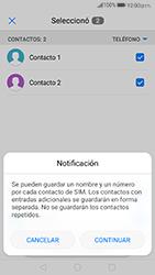 ¿Tu equipo puede copiar contactos a la SIM card? - Huawei P10 - Passo 8